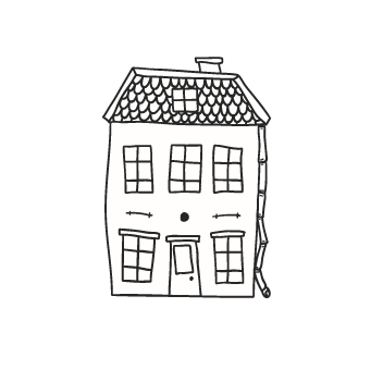 Illustration of houses. Vector created by macrovector